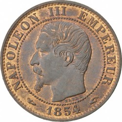 Coin > 5centimes, 1853-1857 - France  - obverse