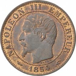 Moneta > 5centesimi, 1853-1857 - Francia  - obverse
