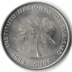 Монета > 50сентаво, 1989 - Куба  - obverse