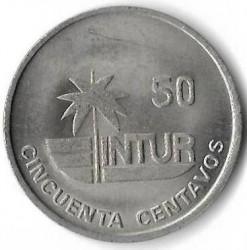 Монета > 50сентаво, 1989 - Куба  - reverse