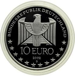 Moeda > 10euro, 2002 - Alemanha  (Centenário do Metro de Berlim) - obverse