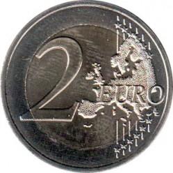 Moneta > 2euro, 2017 - Francja  (100 rocznica śmierci - Auguste Rodin) - reverse