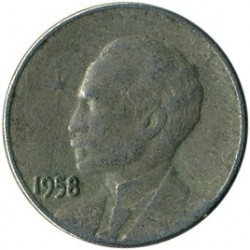 מטבע > 1סנטאבו, 1958 - קובה  - obverse