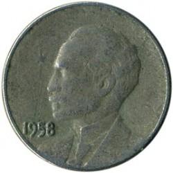 מטבע > 1סנטאבו, 1958 - קובה  - reverse