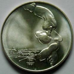 Moneta > 100corone, 1991 - Cecoslovacchia  (150° anniversario - Nascita di Antonín Dvořák) - reverse