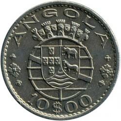 Монета > 10эскудо, 1969-1970 - Ангола  - obverse