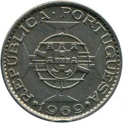 Монета > 10эскудо, 1969-1970 - Ангола  - reverse