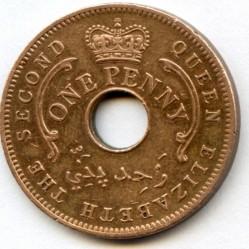 Монета > 1пенни, 1959 - Нигерия  - obverse