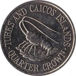 Moneta > ¼corona, 1981 - Turks e Caicos (Isole)  - reverse