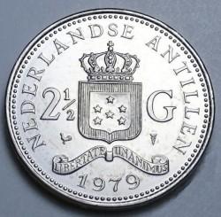 Moeda > 2½gulden, 1978-1980 - Antilhas Holandesas  - reverse