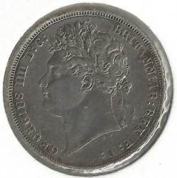 Монета > 1шилінг, 1821 - Велика Британія  - obverse