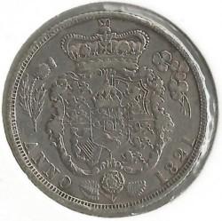 Монета > 1шилінг, 1821 - Велика Британія  - reverse