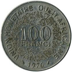Moneda > 100francos, 1976 - África Occidental (BCEAO)  - obverse