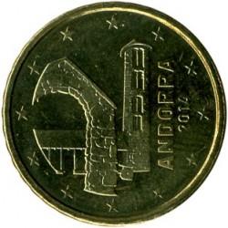 Coin > 10cents, 2014-2016 - Andorra  - reverse
