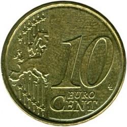 Monēta > 10centu, 2014-2017 - Beļģija  - reverse