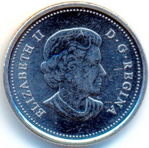 2011 CANADA 25 CENT ORCA WHALE RARE COLORIZED QUARTER..