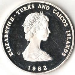 Moneta > 10corone, 1982 - Turks e Caicos (Isole)  (Anno internazionale del bambino) - obverse