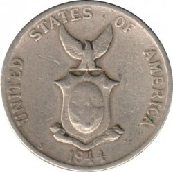 Moneda > 5 centavos, 1944-1945 - Filipinas  - obverse