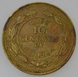 Moneda > 10centavos, 1993-1994 - Hondures  - reverse