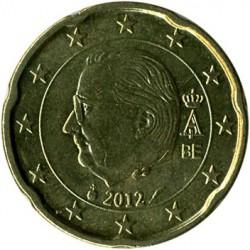 Monēta > 20centu, 2009-2013 - Beļģija  - obverse