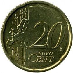 Monēta > 20centu, 2009-2013 - Beļģija  - reverse