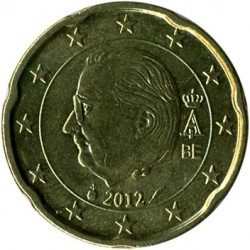 Монета > 20євроцентів, 2009-2013 - Бельгія  - reverse