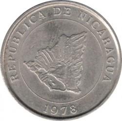 מטבע > 10סנטאבו, 1978 - ניקרגואה  - obverse