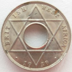 Moneda > 1/10penic, 1938-1947 - Àfrica Occidental Britànica  - obverse