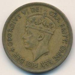 Moneda > 2shillings, 1949-1952 - Àfrica Occidental Britànica  - reverse