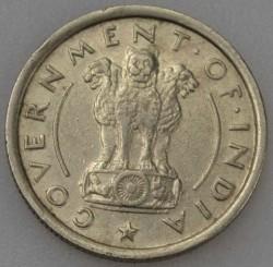 Монета > ½рупии, 1950-1956 - Индия  - obverse