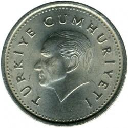 Coin > 1.000lira, 1991 - Turkey  - obverse