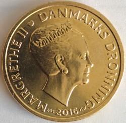 Монета > 20крон, 2013-2016 - Данія  - obverse