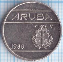 Moneta > 10centų, 1988 - Aruba  - obverse