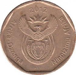 Moeda > 50cêntimos, 2012 - África do Sul  - obverse