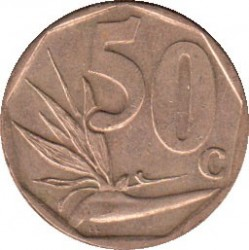 Moeda > 50cêntimos, 2012 - África do Sul  - reverse