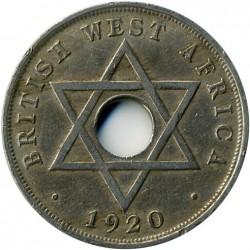 Moneda > 1penny, 1912-1936 - Àfrica Occidental Britànica  - reverse