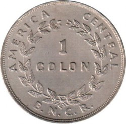 Кованица > 1колон, 1937-1948 - Костарика  - reverse