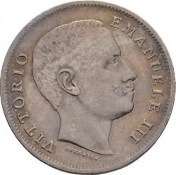 العملة > 1ليرة, 1901-1907 - إيطاليا  - obverse