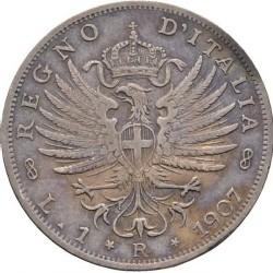 العملة > 1ليرة, 1901-1907 - إيطاليا  - reverse