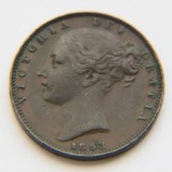 Moneda > 1farthing, 1838-1859 - Regne Unit  - obverse