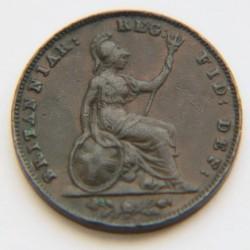 Moneda > 1farthing, 1838-1859 - Regne Unit  - reverse