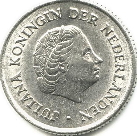 25 Cent 1963 Niederlande Münzen Wert Ucoinnet