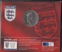العملة > 5جنية, 2004 - آلدرني  (2006 FIFA World Cup - England National Football Team) - obverse