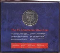 العملة > 5جنية, 2004 - آلدرني  (2006 FIFA World Cup - England National Football Team) - reverse