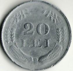 Moneda > 20lei, 1942-1944 - Rumanía  - obverse