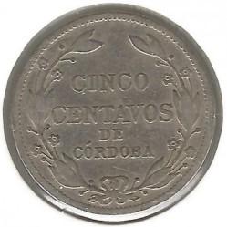 Moeda > 5centavos, 1912-1940 - Nicarágua  - reverse