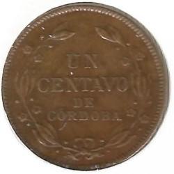 Moeda > 1centavo, 1912-1940 - Nicarágua  - reverse