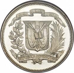 Coin > 25centavos, 1937-1961 - Dominican Republic  - obverse