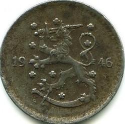 Münze > 1Mark, 1946 - Finnland  - obverse