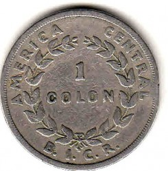 Münze > 1 Colon, 1935 - Costa Rica  - obverse